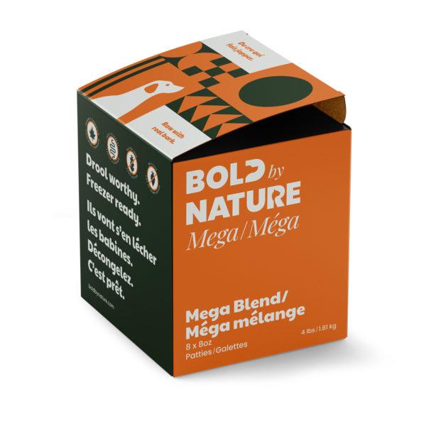 Bold by Nature, 4 lb Mega blend patties