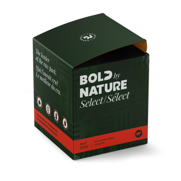 Bold by Nature Select, 4 lb beef patties