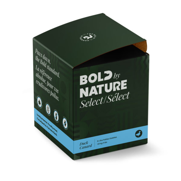 Bold by Nature Select, 4 lb duck patties